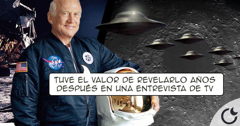 La increible DECLARACIÓN de Buzz Aldrin sobre su encuentro OVNI en APOLLO 11