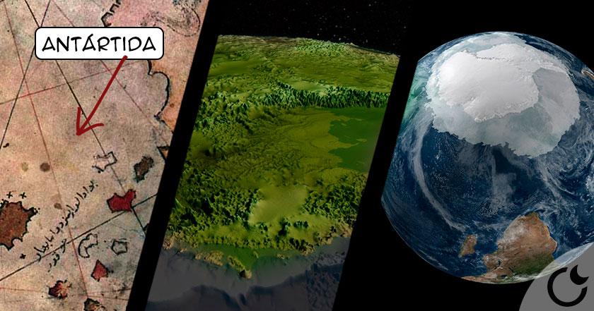 La Antártida era verde: mapas milenarios destruyen la historia oficial.