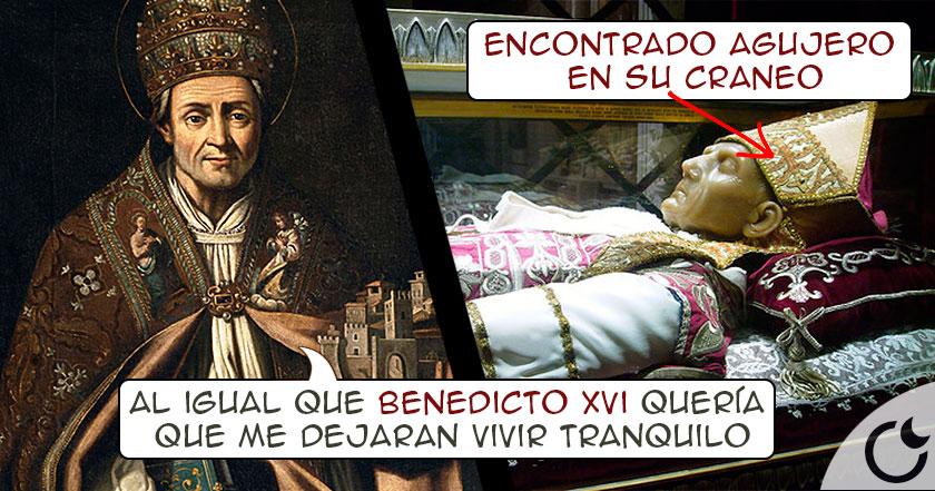 El papa que abdicó igual que Benedicto y cuya muerte es un ¿MISTERIO?