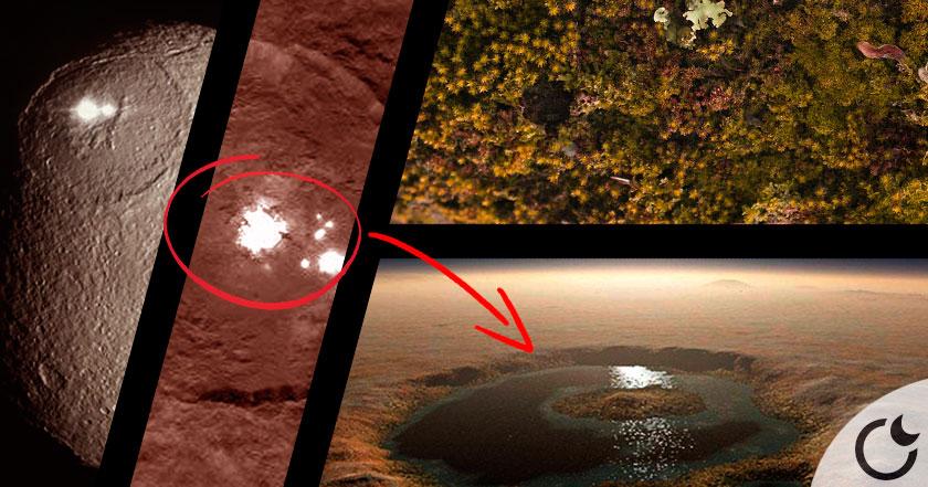 Hallan vida en Ceres: el planeta más cercano a la Tierra.
