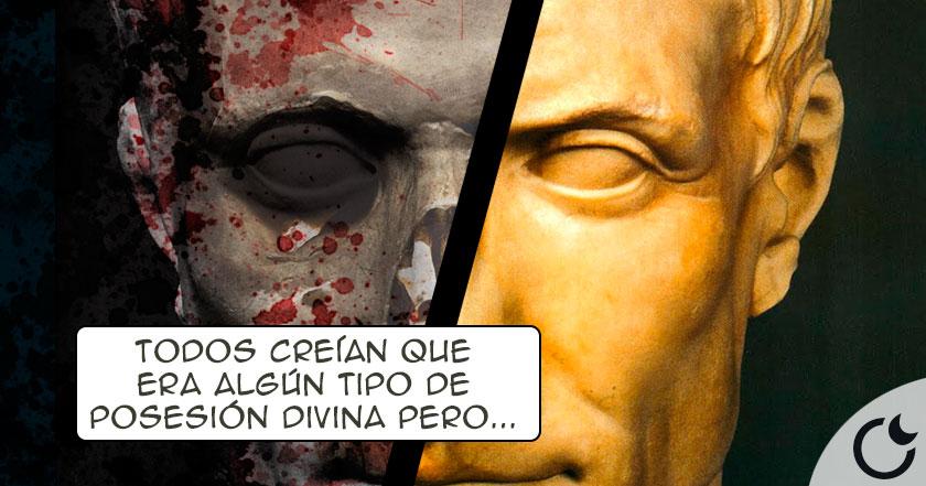 Descubre la EXTRAÑA enfermedad que AVERGONZABA a Julio César y que llevó en SECRETO