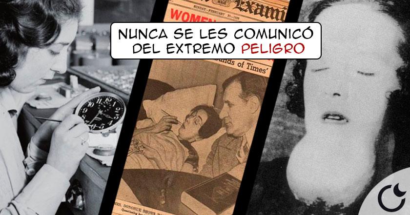 La lamentable historia de las CHICAS RADIACTIVAS de las manillas del reloj.