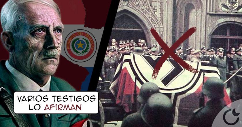 Hitler no murió en 1945…si no en 1971 y fue enterrado en Paraguay