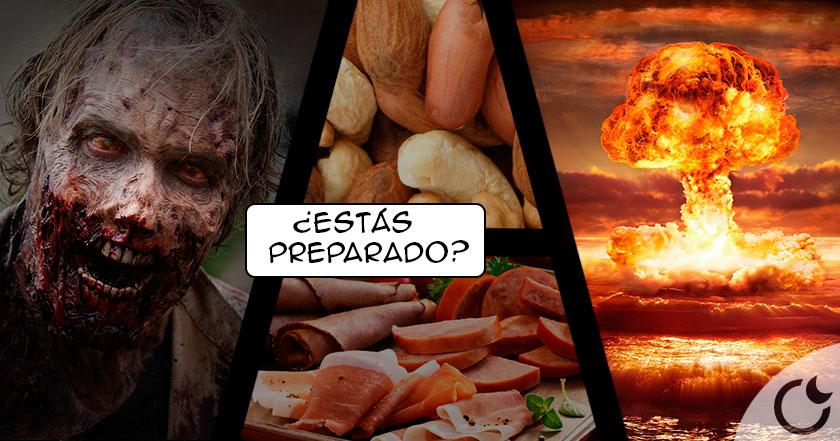 ¿Holocausto zombie o nuclear? Te mostramos qué alimentos guardar.