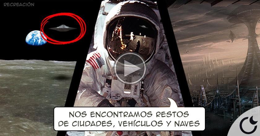 ¿Los ETs expulsaron a los astronautas del Apollo 11 en la Luna?