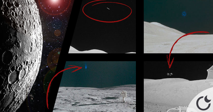 Descubre los errores de la NASA que demuestran el contacto ETs en la Luna
