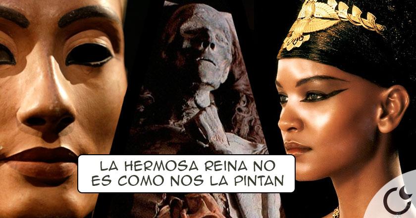 La gran farsa de la «HERMOSA y ENCANTADORA» Nefertiti. Descúbrela aquí.