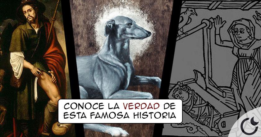 El Perro de San Roque: Un santo y mártir de cuatro patas.