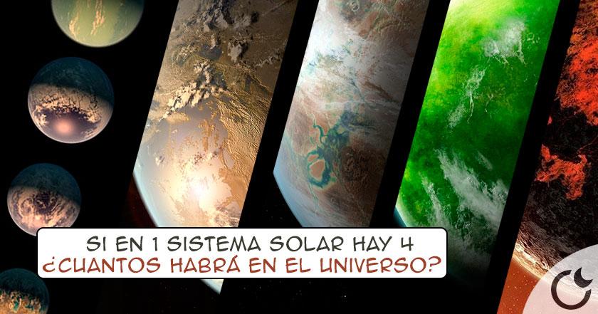 ALTA probabilidad de VIDA en 4 de los 7 planetas descubiertos por NASA. Reescribamos la historia…