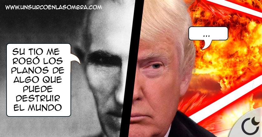 La CONEXIÓN entre Nikola Tesla y Donald Trump que pondría EN PELIGRO la Tierra