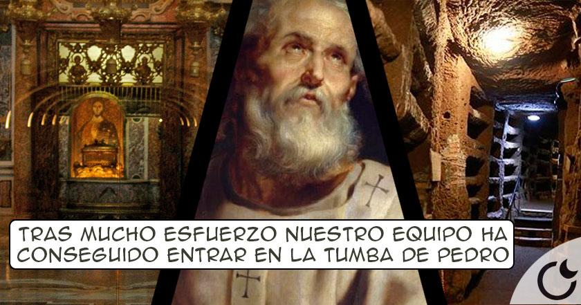 ¿Está realmente PEDRO ENTERRADO en la necrópolis vaticana?