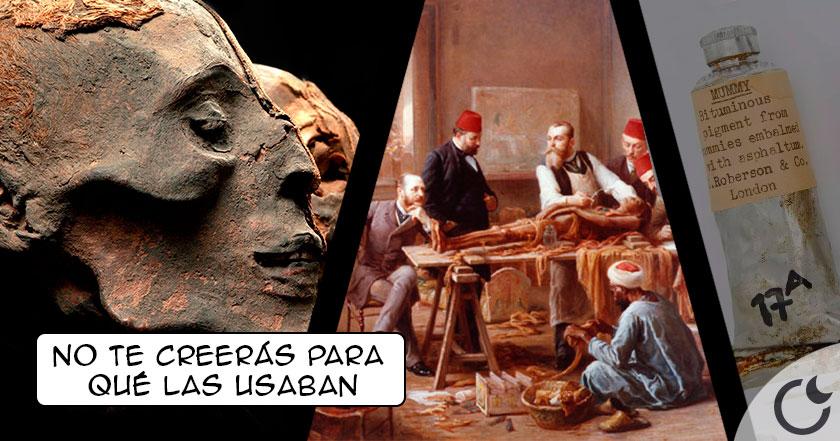 Los macabros e insólitos usos de las MOMIAS a lo largo de la historia.