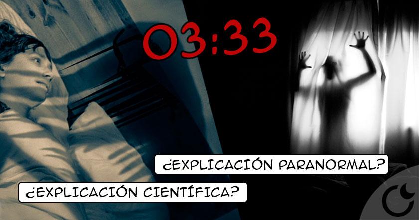 La verdad sobre el extraño y real fenómeno de las 03:33 AM