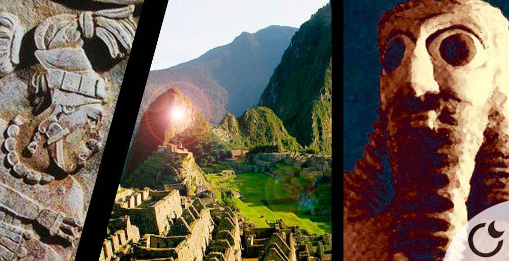 ¿Instruyeron los Antiguos Dioses Sumerios al continente americano también?