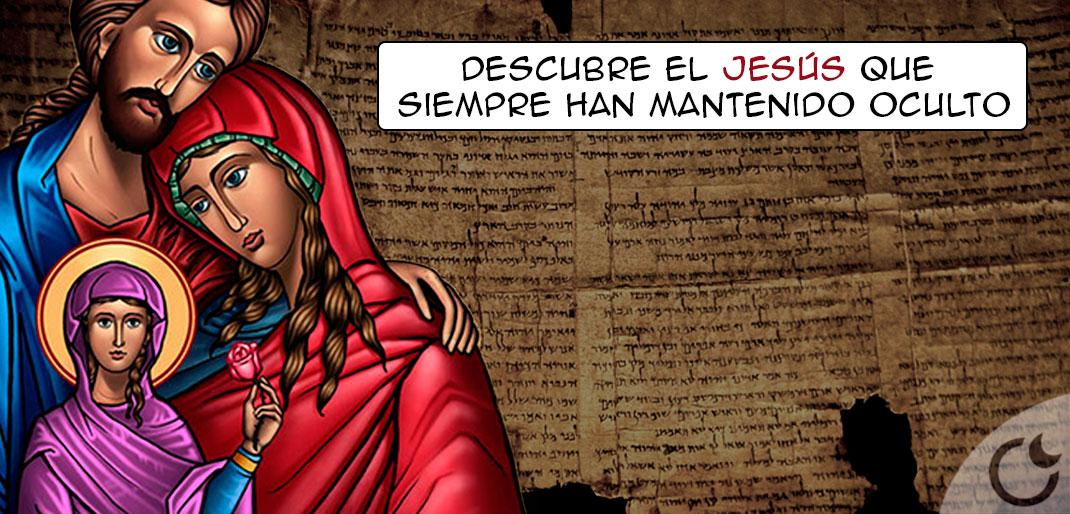 Descubre al otro Jesús según Evangelios Apócrifos que la Iglesia escondió.