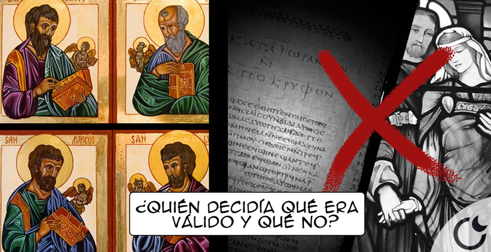 ¿Dónde se decidió qué evangelio era permitido que leyeses y cuál no?