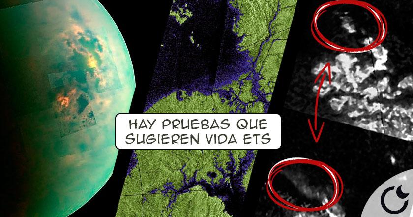 Descubre AQUI las SEÑALES de VIDA extraterrestre en Titán: la LUNA de SATURNO