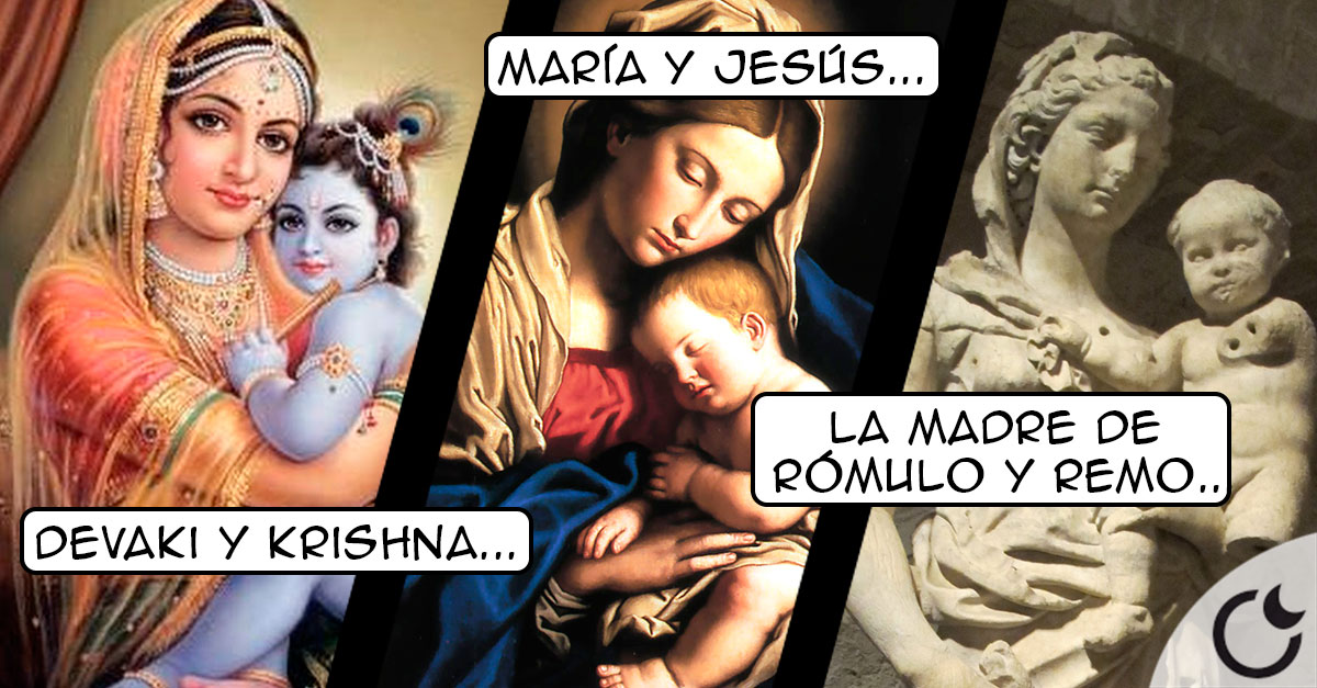 Vírgenes y niños divinos EN CASI TODAS LAS RELIGIONES ¿Y sigues creyendo la tuya VERDADERA?