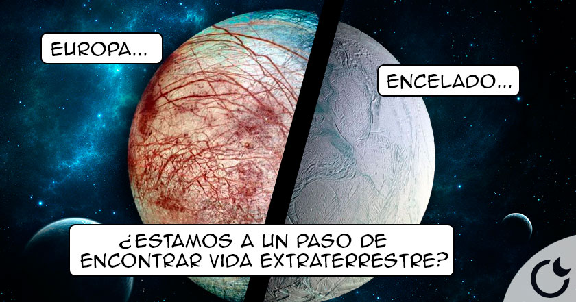 NASA CREE que HAY VIDA en lunas de Saturno y Júpiter. ÚLTIMA HORA