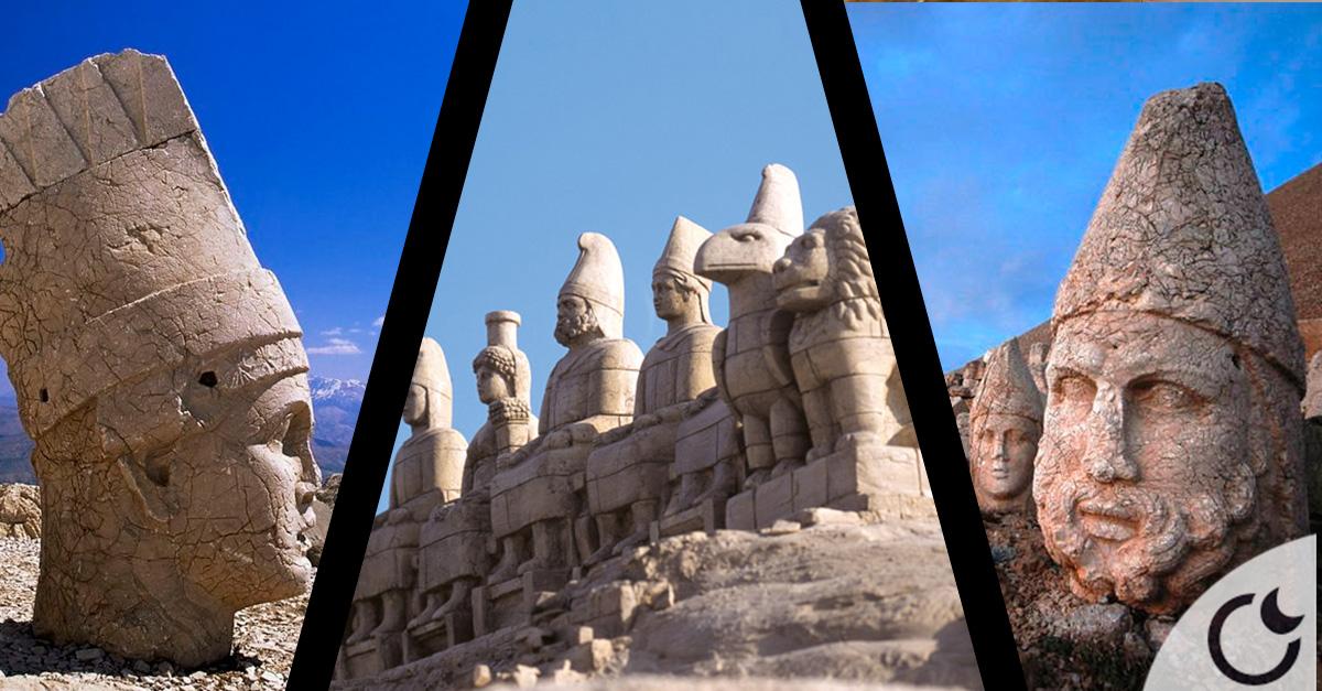 El misterio de NEMRUT DAG y sus GIGANTESCAS estatuas de piedra