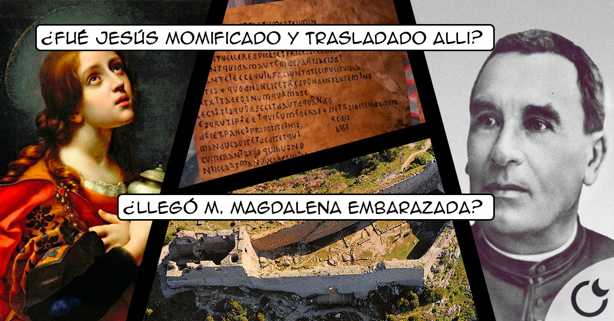 El misterio de RENNES-LE-CHÂTEAU, el SANTO GRIAL y MARÍA MAGDALENA