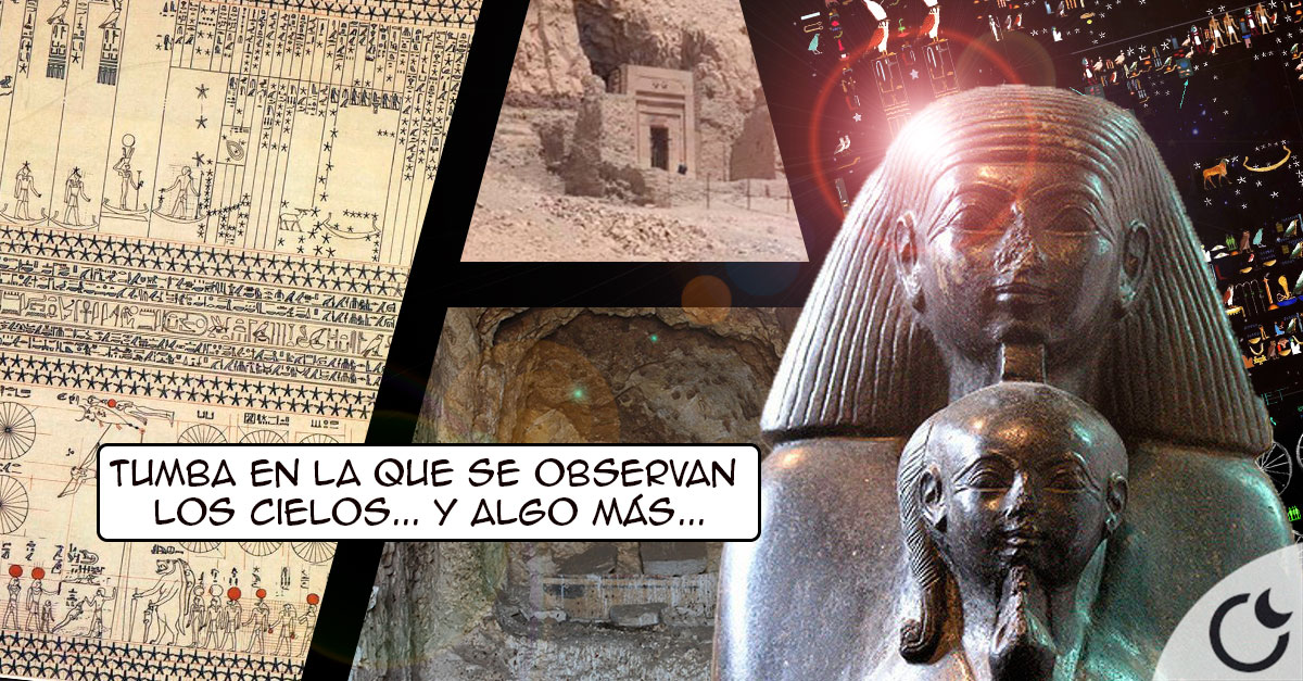 SECRETOS, ENIGMAS y MAPAS ESTELARES: la misteriosa tumba de SENENMUT