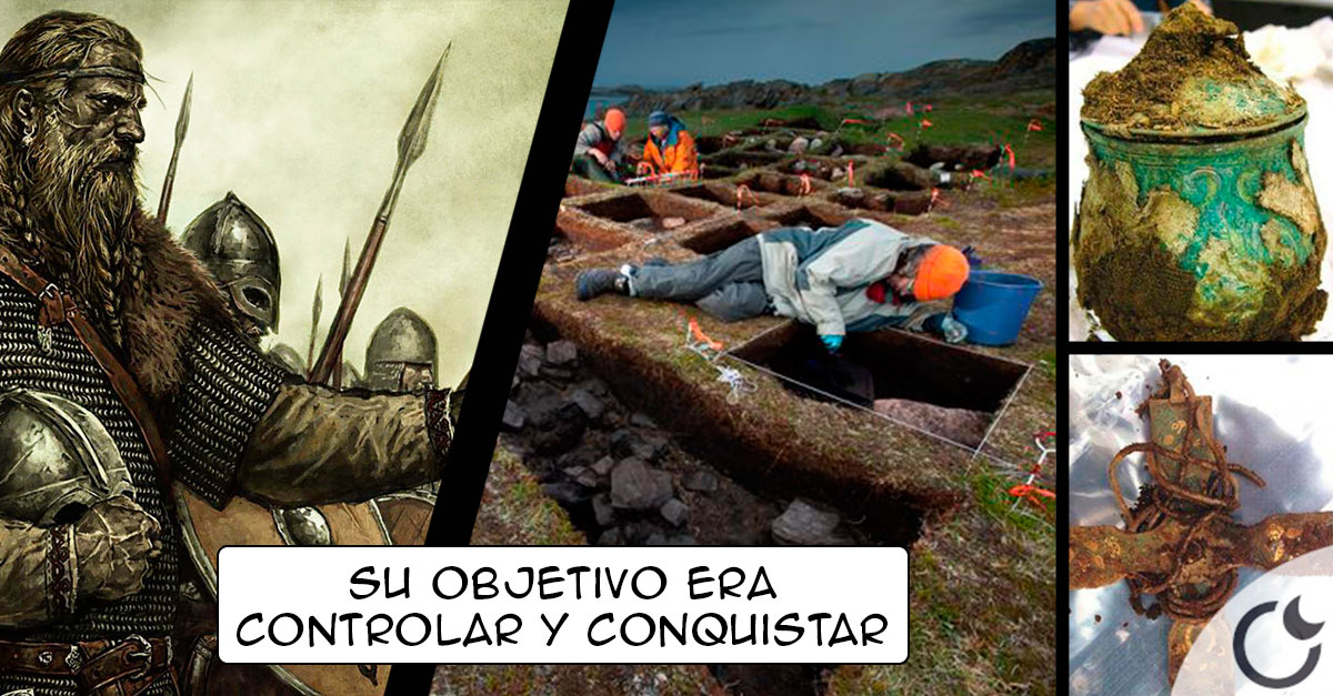 Encontrado el asentamiento de los Vikingos que invadieron y saquearon Inglaterra