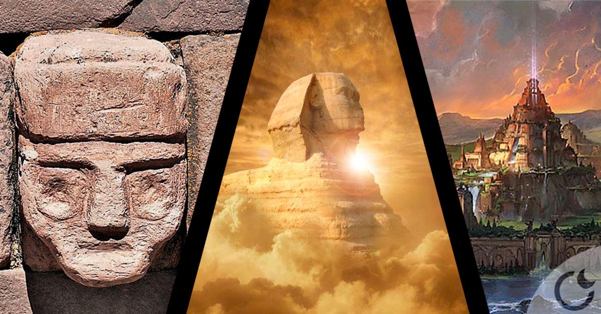 ¿Fue la Gran Esfinge construida por los Atlantes realmente?
