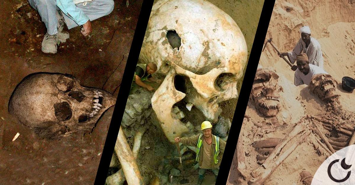 Descubre toda la verdad sobre las fotos de los Esqueletos Gigantes.