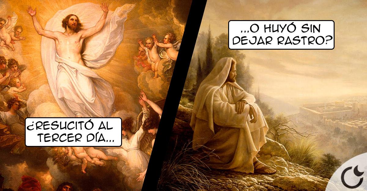 La muerte, RESURRECCIÓN y ASCENCIÓN de Jesús ¿VERDAD O TIMO MONUMENTAL?