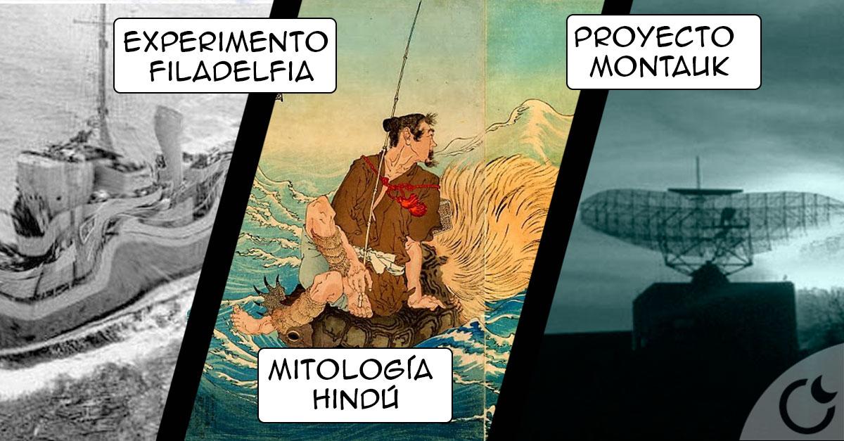 Los viajes en el tiempo desde la Antigüedad hasta la Ciencia Moderna.