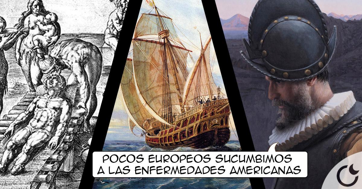 ¿Por qué las enfermedades de América NO ACABARON con los conquistadores europeos?