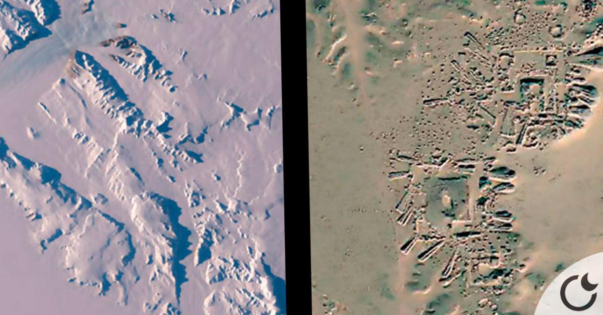 Descubren una ANCESTRAL CIUDAD en la antartida a 2 km de profundidad