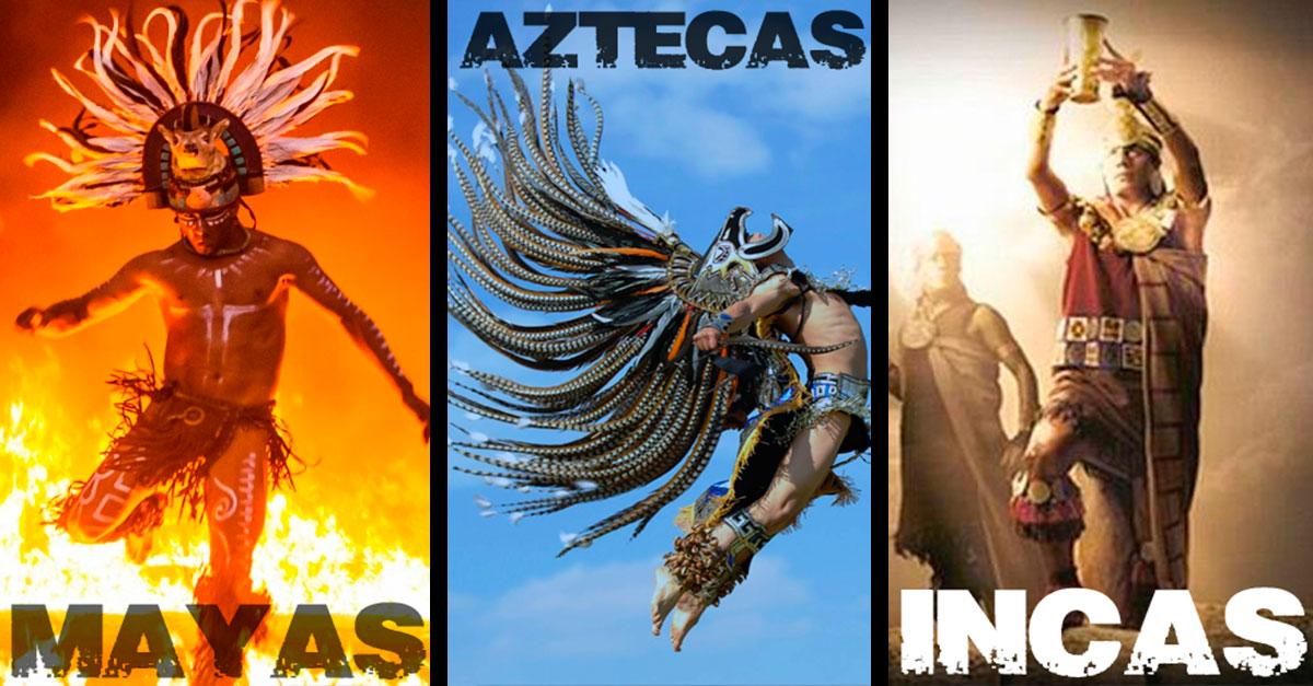 Descubre las diferencias entre mayas, aztecas e incas DE UNA VEZ POR TODAS