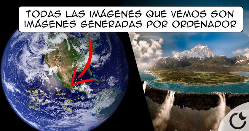 ¿Por qué NO EXISTEN fotos de la Tierra?… Y más sobre la teoría PLANA
