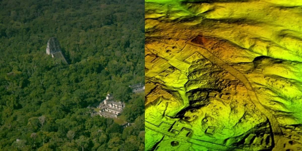 Titánica ciudad oculta bajo el suelo Maya es descubierta por arqueólogos.