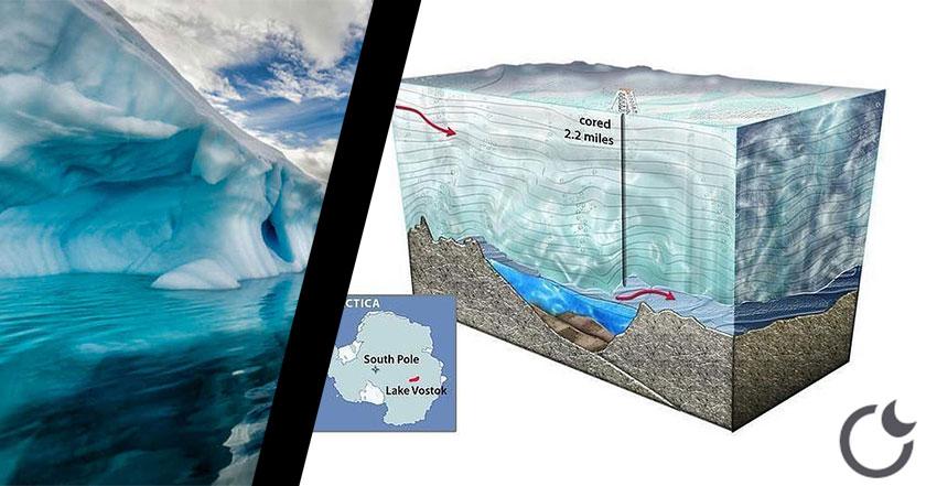 Hallan miles de formas NUEVAS de vida en una cueva a 3 KM BAJO EL HIELO de la Antártida