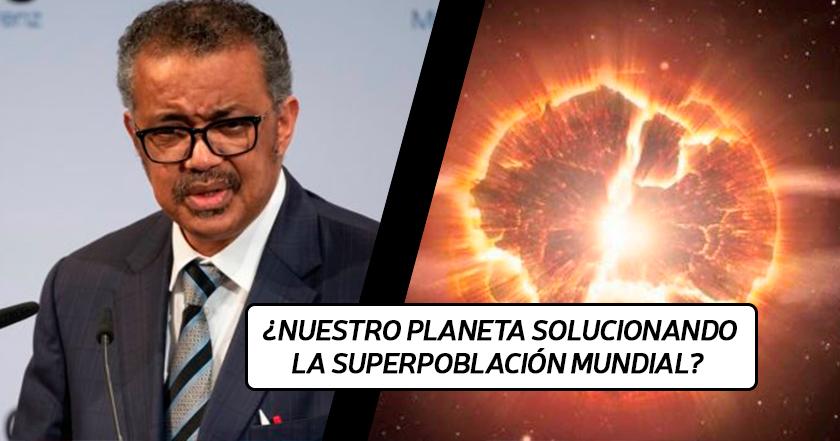 La OMS confirma que el origen del COVID19 es que el planeta NO NOS QUIERE aquí